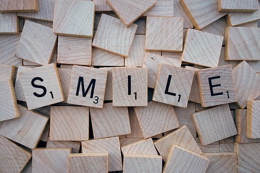 笑顔,作る,