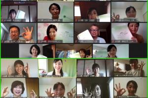 日本アンガーマネジメント協会東北支部,地域担当講師登壇,勉強会,オンライン会議システム