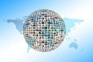 ネットワーク,Zoom,広がる世界,グルーバル化の方法